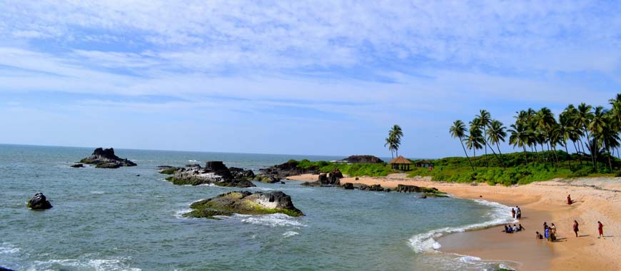 Beach in Udupi, Karnataka