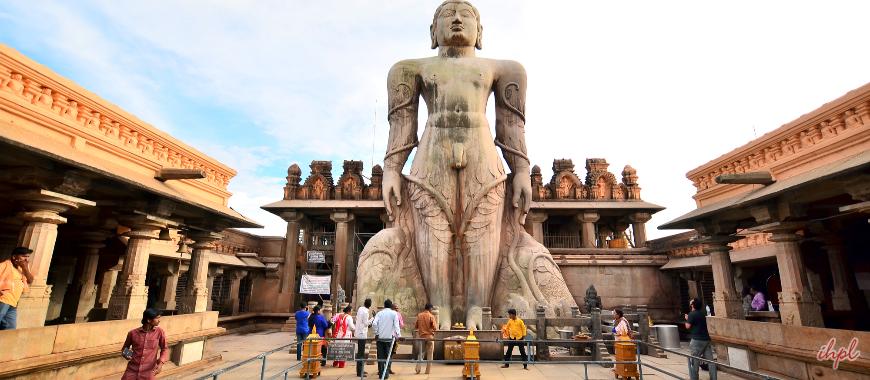 Shravanabelagola Town in Karnataka