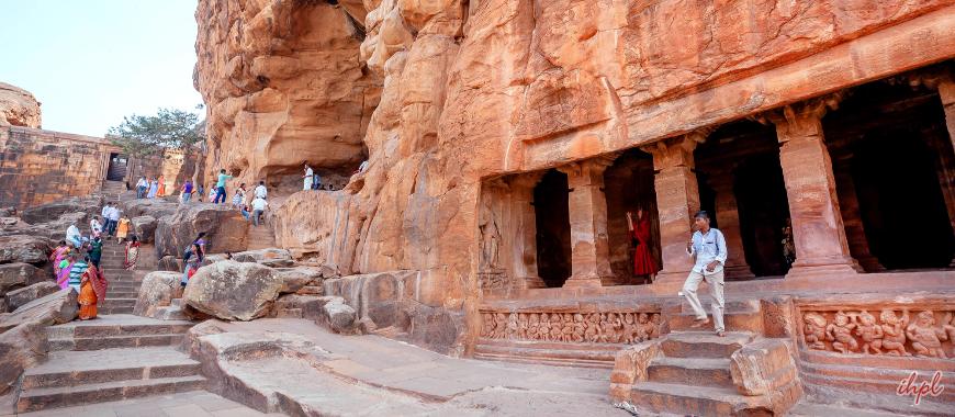 Badami cave temples
