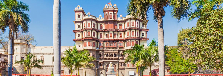 Rajwada Palace in Indore, Madhya Pradesh