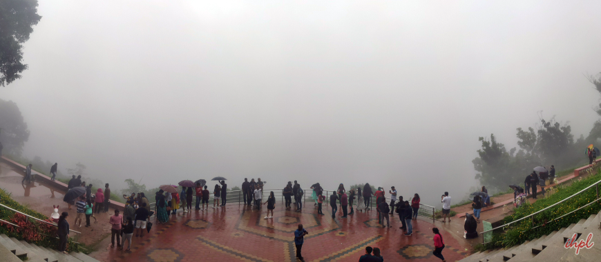 Coorg view point in Karnataka