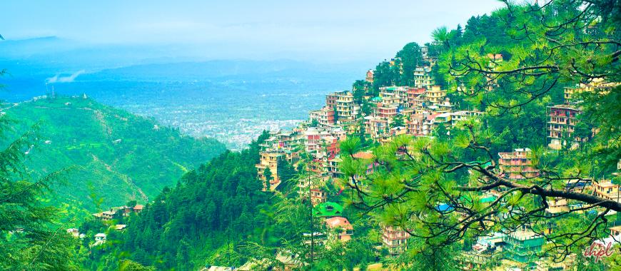 Dharamshala city in Himachal Pradesh