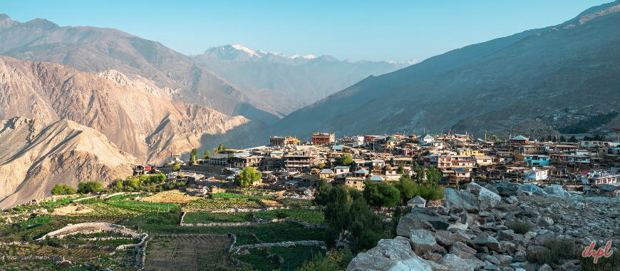 Lahaul and Spiti district in Himachal Pradesh