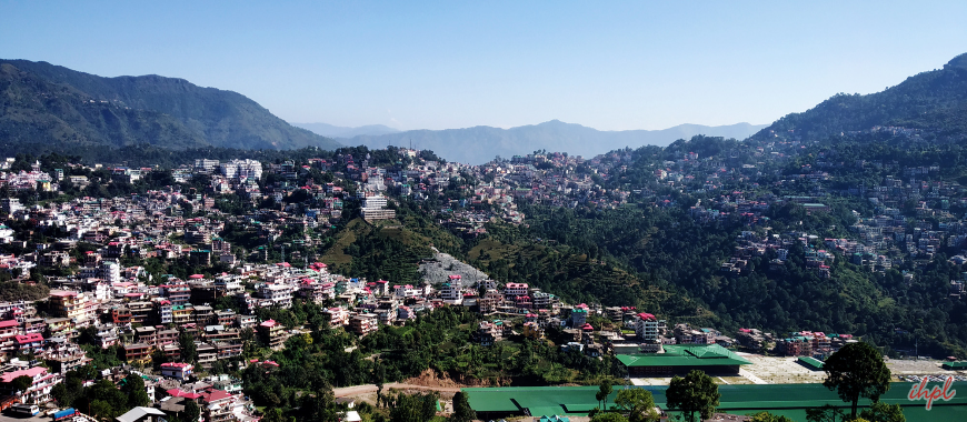 Solan city in Himachal Pradesh