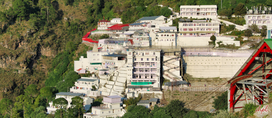 Vaishno Devi temple in Jammu