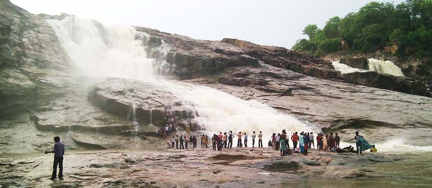 Kuntala Waterfall, Adilabad in Telangana