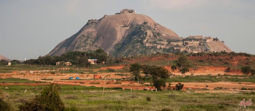 Bhongir Fort in Nalgonda, Telangana