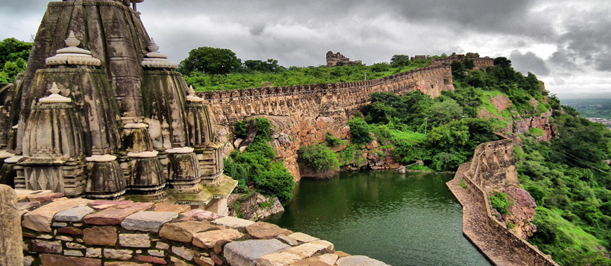 Chittor Fort Tourist attraction in Rajasthan