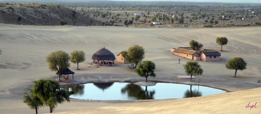 Khimsar town in Rajasthan