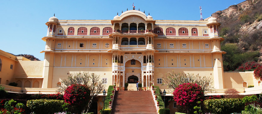 Samode Palace Hotel in Samod, Rajasthan