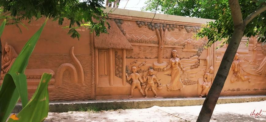Mahaban city in Uttar Pradesh