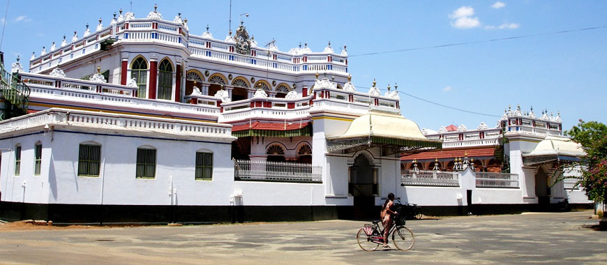Chettinad city in Tamil Nadu