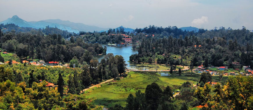 Kodaikanal Lake in Tamil Nadu