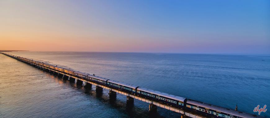 Rameswaram Town in Tamil Nadu