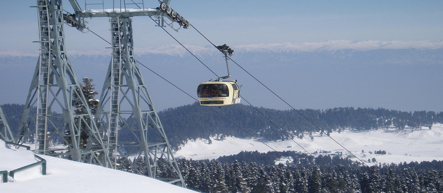 cable car gulmarg kashmir