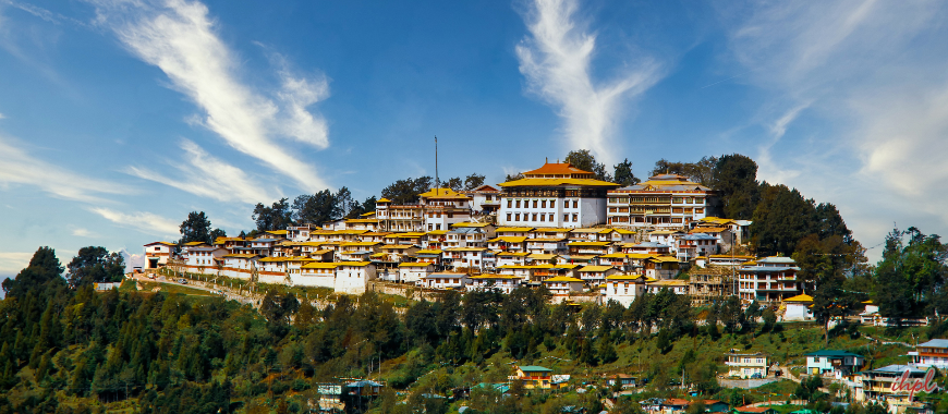 Tawang city in Arunachal Pradesh