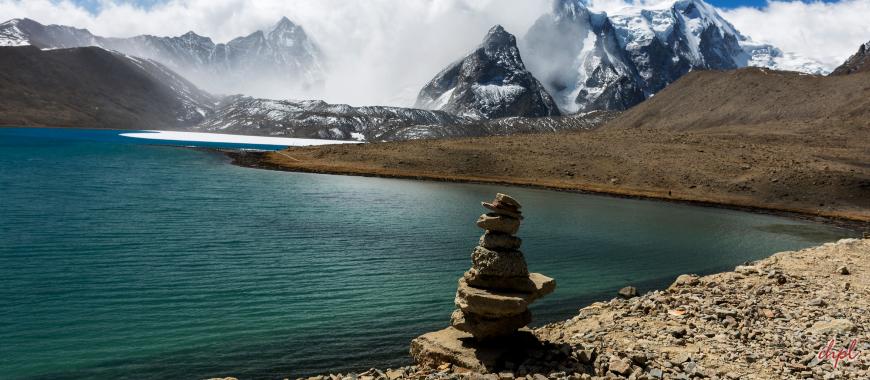 Gurudongmar Lake in Gangtok Sikkim