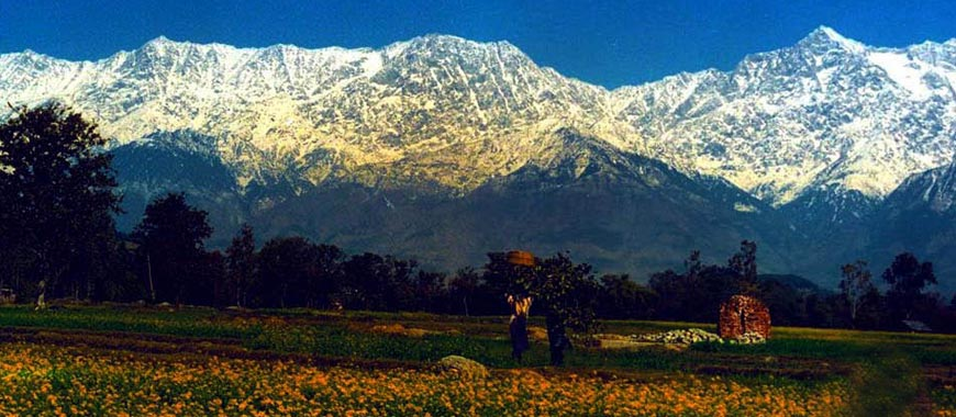 Kangra City in Himachal Pradesh