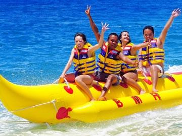Banana Boat Rides in Goa2