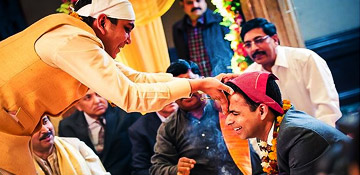 Tilak Ceremony - Tilak Ceremony India - Rokaa Ceremony - Hindi