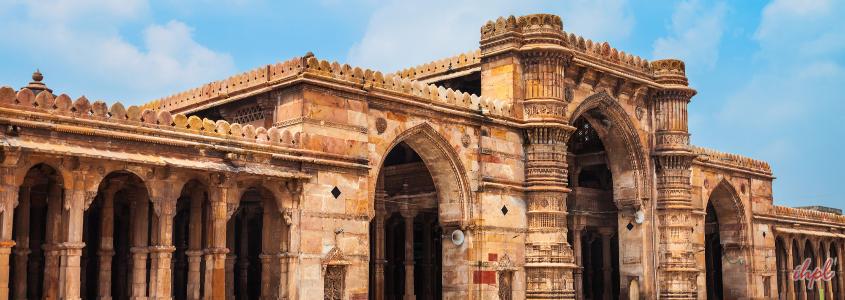 Sarkhej Jama Masjid in Ahmedabad, Gujarat