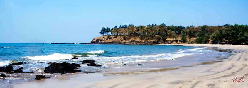 beach in alibag, Maharashtra