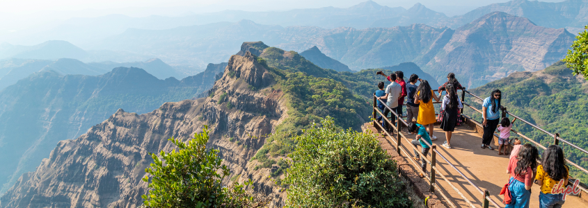 Monkey Point at Mahabaleshwar