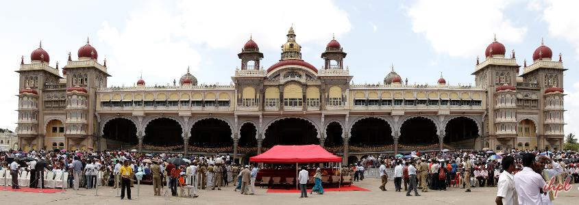 Mysore Palace in Mysore, Karnataka