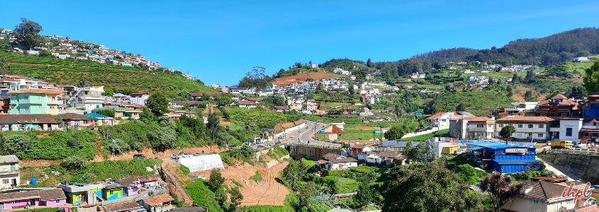 Ooty Town in Tamil Nadu