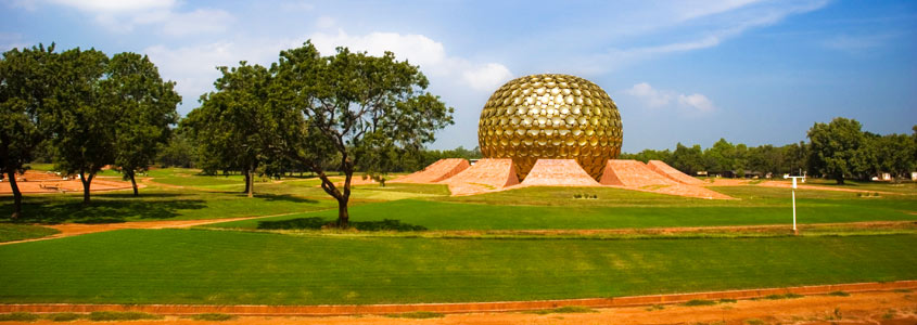 Matrimandir Pondicherry