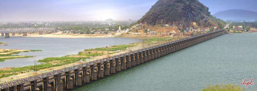 Vijayawada City in Andhra Pradesh