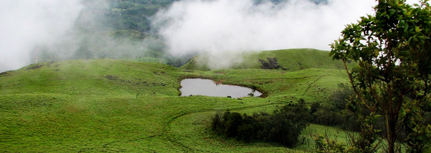 Heart Lake in Wayanad
