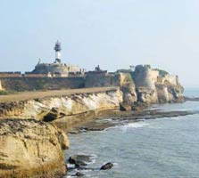 daman fort in daman and diu
