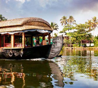 waterfall in kumarakom