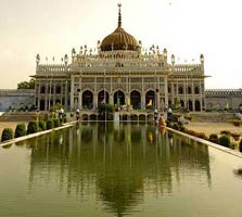 Lucknow palace in uttar pradesh