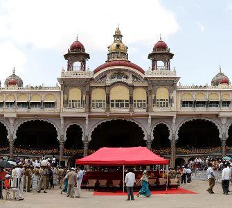 Mysore city in Karnataka