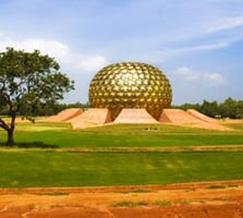 Pondicherry matrimandir