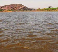 Lake in Sohna, Haryana