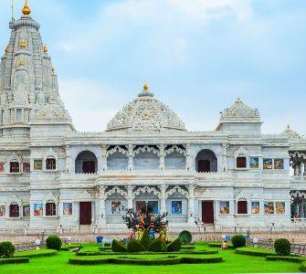 Prem mandir in Vrindavan